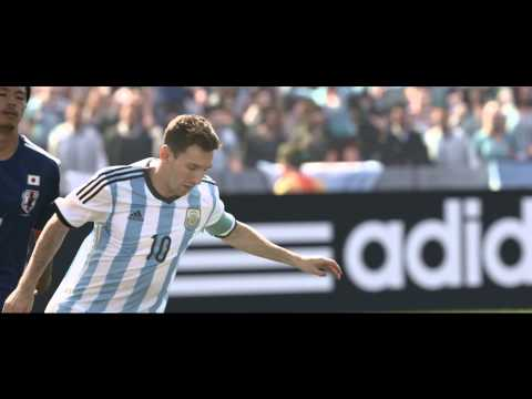 I am brazuca. Match ball of the 2014 FIFA World Cup  adidas Football