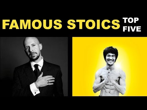 The Philosophy Of Stoicism | Top 5 Famous Modern Stoics