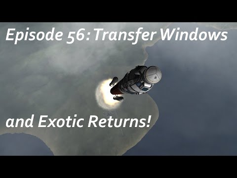 Transfer Windows and Exotic Returns! - KSP/MKS - Multiplanetary Species Episode 56