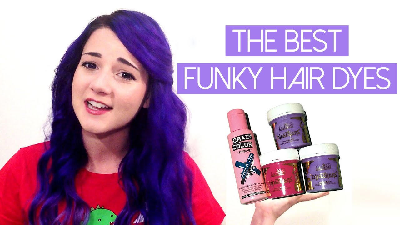 Funky Colors Hair Dye Review Directions Crazy Color Aesthetic You