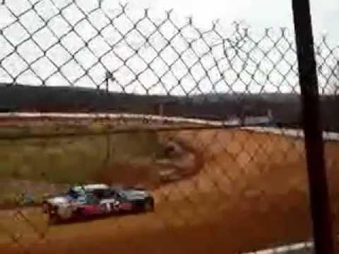 Alex at hill valley speedway test