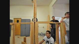 California Baptist Floating Arm Trebuchet