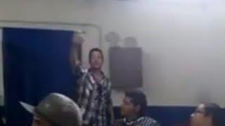 Martín del grupo burbujas mocha orejas del grupo Marquez de Querétaro y Cruz de la sobriedad 45