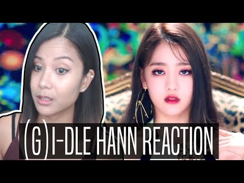 (G)I-DLE HANN ALONE REACTION