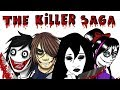 THE KILLER SAGA | Nina The Killer / Jane the Killer / Jeff the Killer | Draw My Life