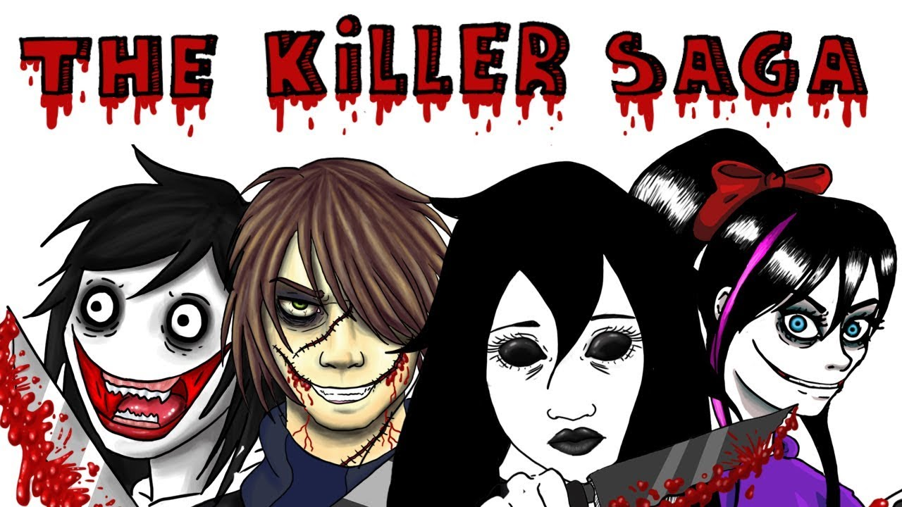 Dibujos Para Imprimir De Jeff De Killery Jane De Killer: Nina The Killer / Jane The Killer / Jeff