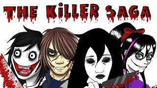 THE KILLER SAGA | Nina The Killer / Jane the Killer / Jeff the Killer | Draw My Life