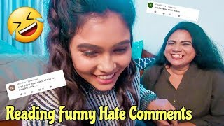 Download lagu Reading Funny Hate Comments with MOM QnA Ishita Chanda Vlogs MP3