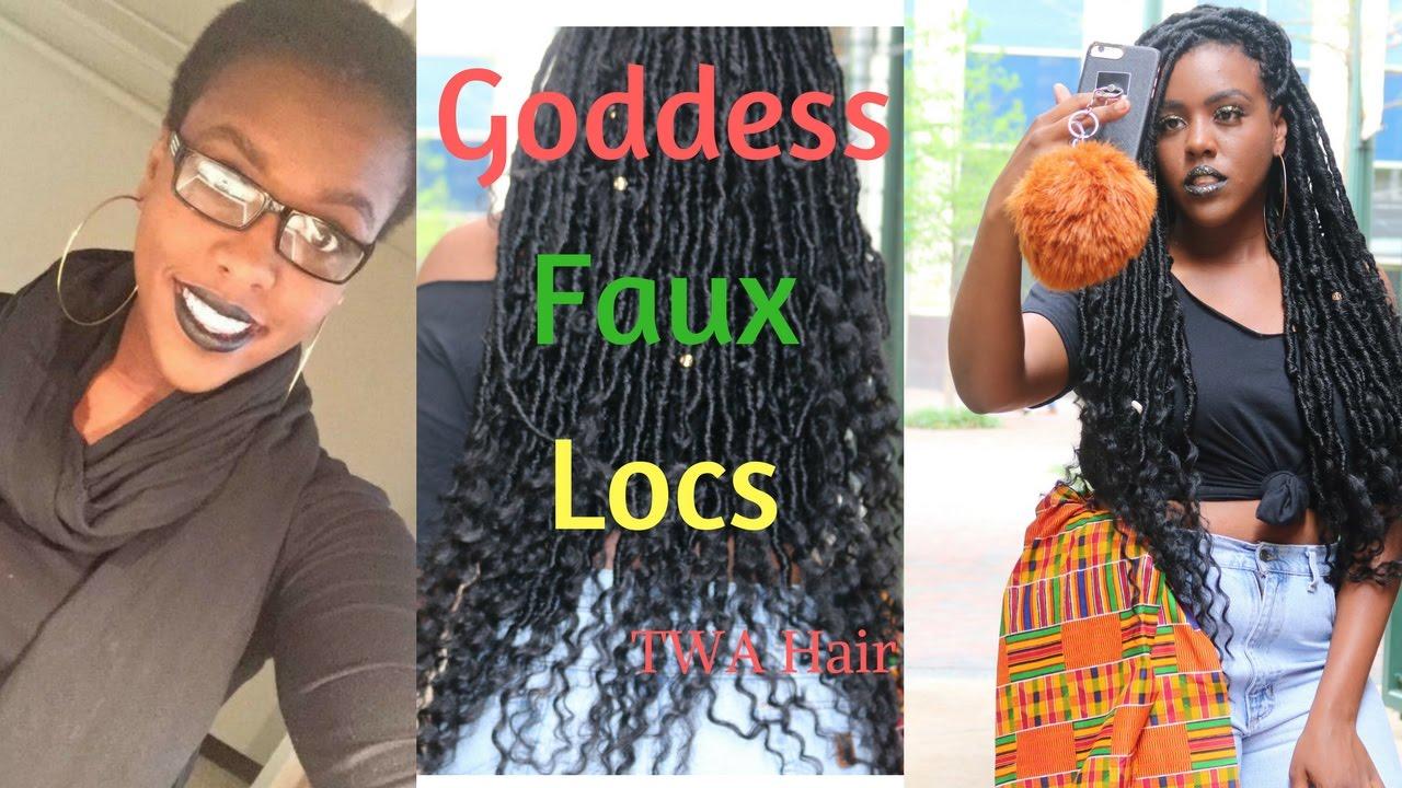 Hair Diary Dess Faux Locs On Twa Crochet No Cornrows Wring
