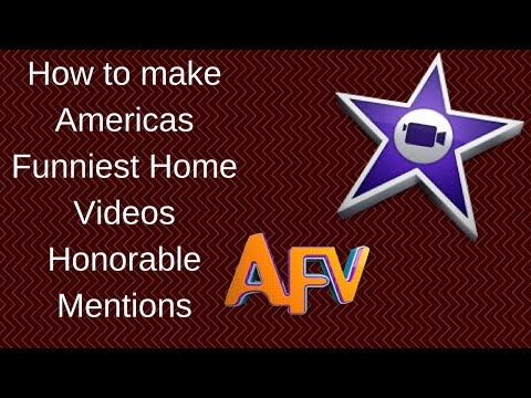 How to make the AFV Honorable Mentions