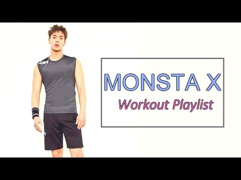 3K💗 [KPOP PLAYLIST] MONSTA X(몬스타엑스) Powerful songs' Mix (Workout /Sports/ Dance)