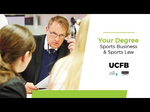 BA (Hons) Sports Business & Sports Law at UCFB