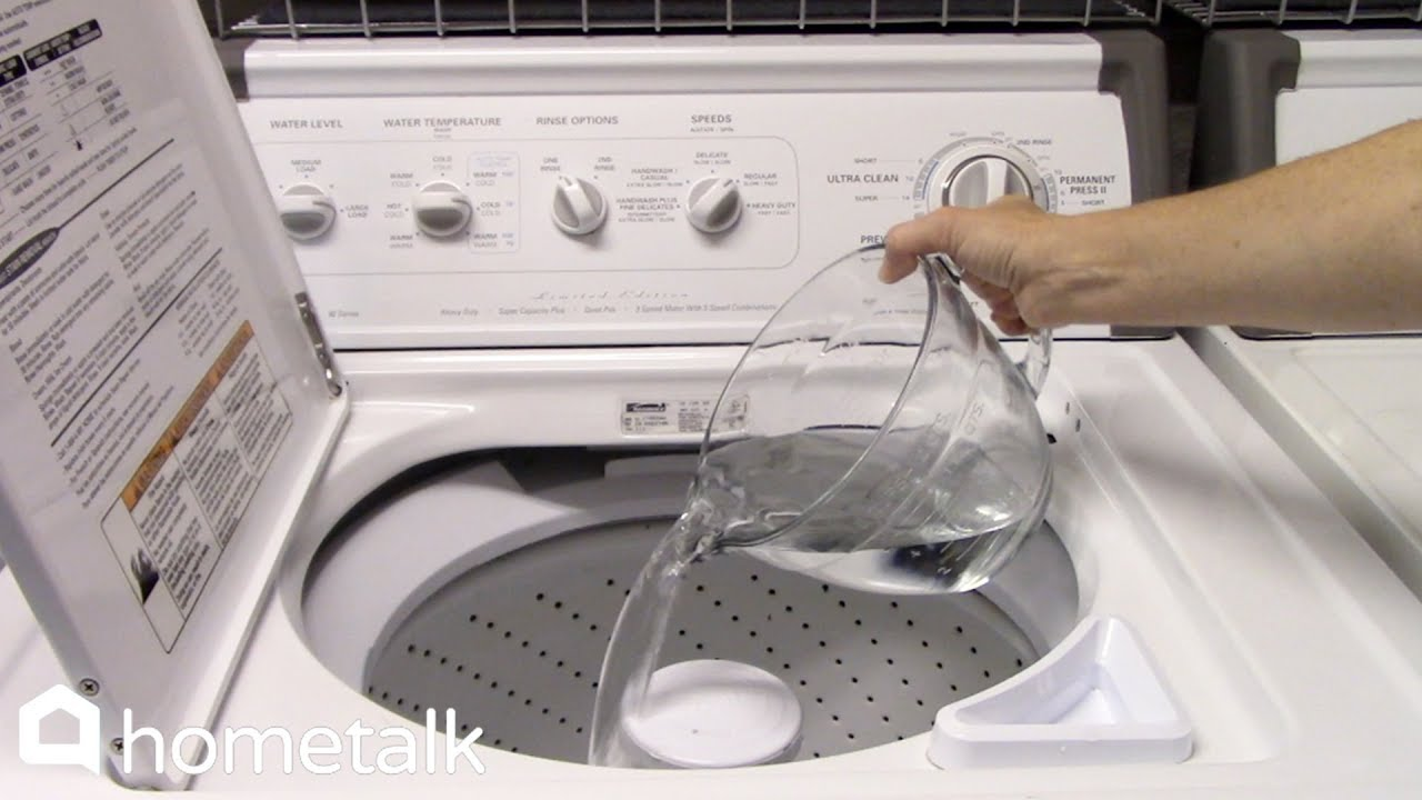 How To Clean Your Washer Dryer Hometalk You