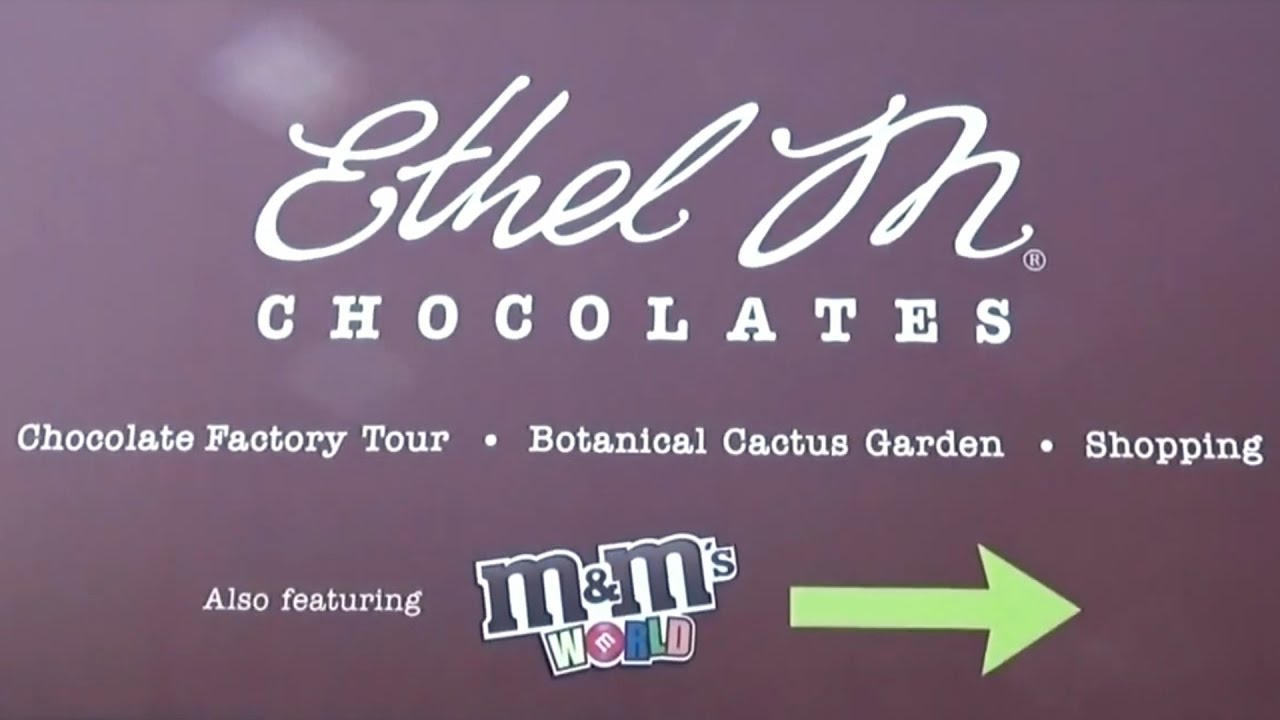 Ethel M Chocolate Factory Tour Henderson, NV Las Vegas - YouTube