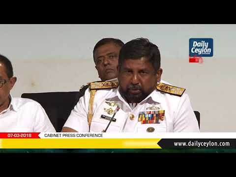 People who are doing the damages to Muslims are traitors - Admiral Ravindra C. Wijegunaratne