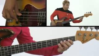 Bass Guitar Lesson - #28 - Atomic Bass - Kai Eckhardt