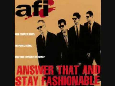 4- I wanna get a mohawk - AFI
