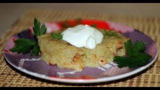 ВЛОГ 8. Готовим с мамой Картофельную бабку.Рецепт картофельной запеканки.