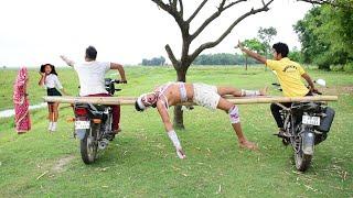 Funniest Comedy video 2021 amazing comedy video 2021 bindas fun bd