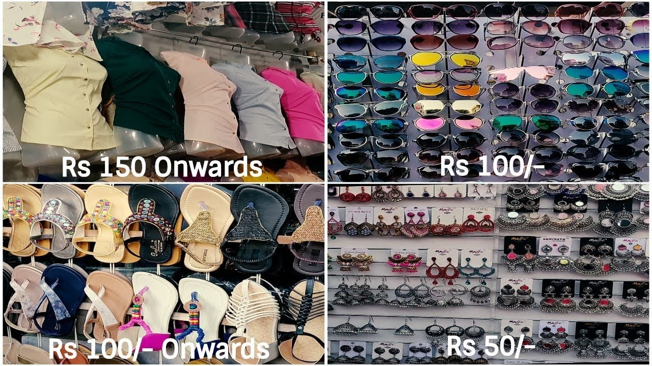 Bandra Linking Road Street Shopping Prices Starting At Rs 50 Style On A Budget Youtube