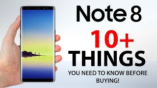 Samsung Galaxy Note 8 - 10 Things You NEED to KNOW!