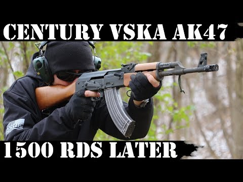 Century VSKA AK47: 1,500 Rounds later! New Video!!!