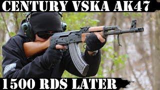 Century VSKA AK47: 1,500 Rounds later! New Video!!!