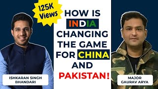 Modern Warfare- How India can defeat China and be Superpower!- with Major Gaurav Arya