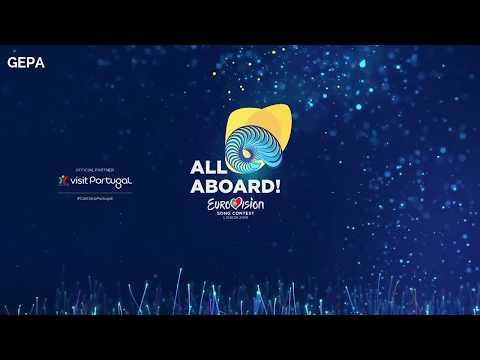 Eurovision Song Contest 2018 official Intro - Logo