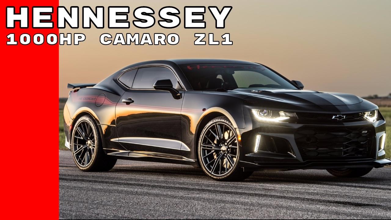 1000hp Camaro Zl1 Named Exorcist By Hennessey Youtube