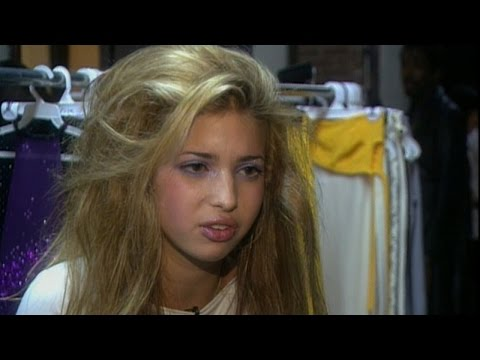 Go Behind-The-Scenes at Ivanka Trump's Runway Debut In 1997
