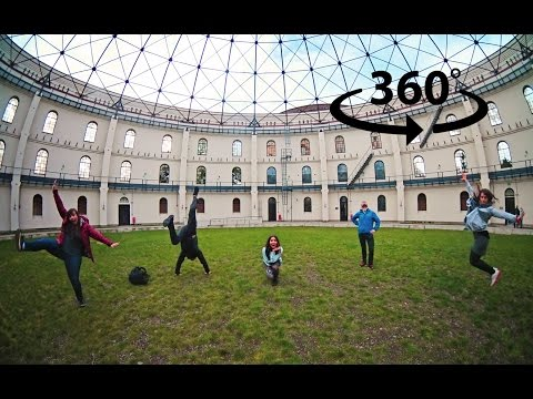 What we did in Leipzig... ( in 360° video )
