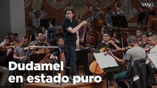 Dudamel en el Palau de la Música