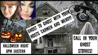 Ghost to ghost show Halloween night! SCARY Art Bell clip! Aired on my CMARIE channel