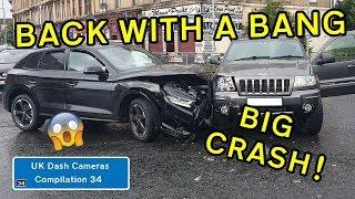 UK Dash Cameras - Compilation 34 - 2019 Bad Drivers, Crashes + Close Calls