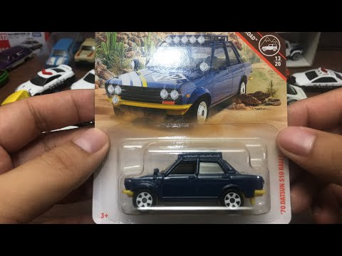 Free the Piece - Matchbox 1970 Datsun 510 Rally Review