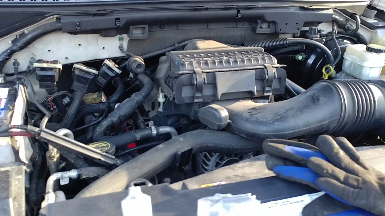 How To Change Coil Packs On 05 Navigator 5 4 Youtube