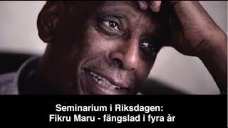 Seminar in Swedish Parliament: Free Fikru, May 11th 2017