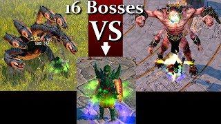 Titan Quest Atlantis  God Poseidon Build VS 16 Legendary Bosses