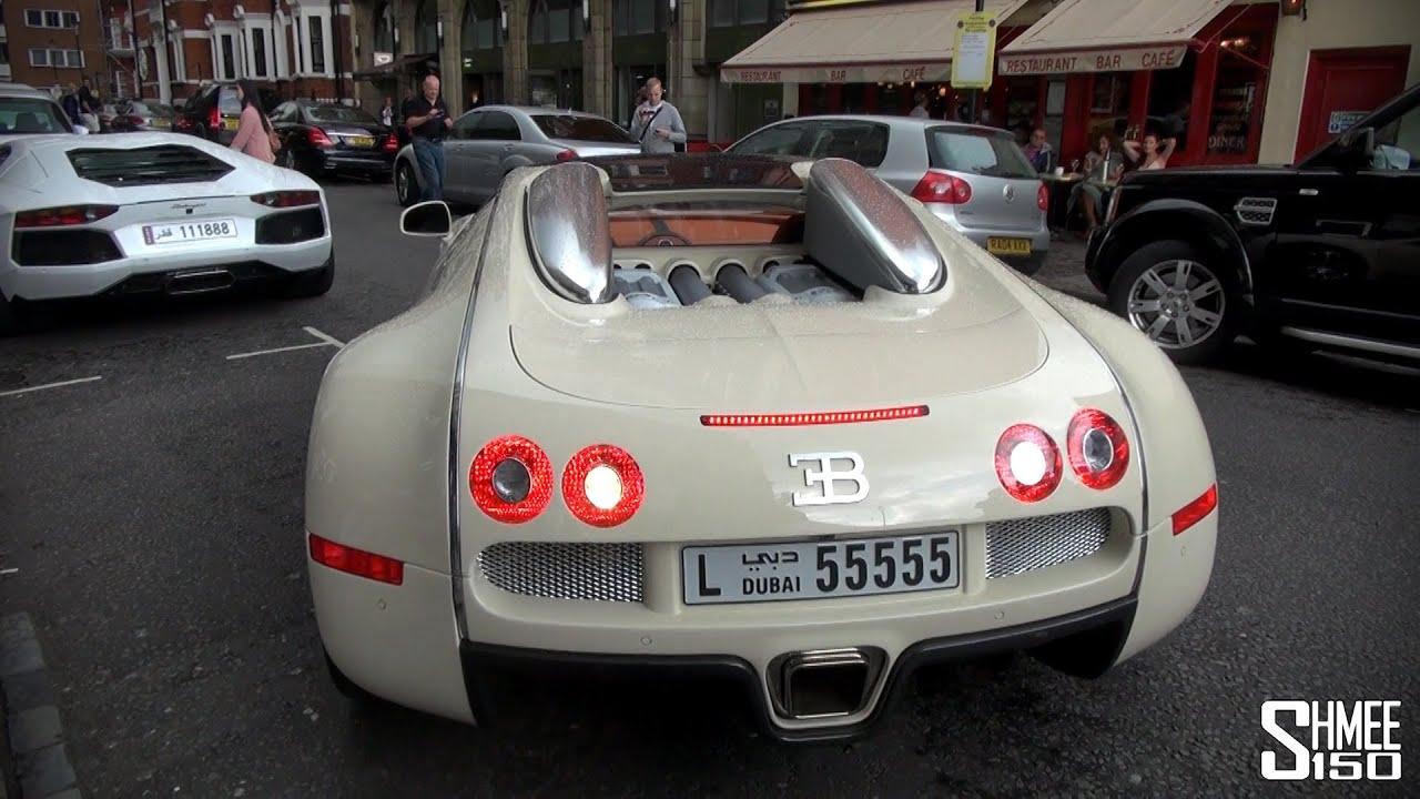 Abandoned Bugatti Veyron with the Engine Running!