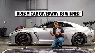 Dream Car Giveaway 18 Winner