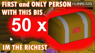 I AM THE RICHEST PLAYER | 50+ Master Clue Opening