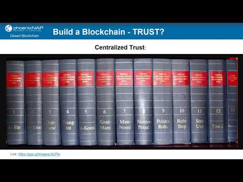 Blockchain Basics - Training with phoenixNAP and Desert Blockchain