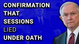 Yep, AG Jeff Sessions Lied Under Oath
