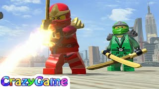 All LEGO Ninjago Characters (MOD) Free Roam In LEGO Marvel Super Heroes