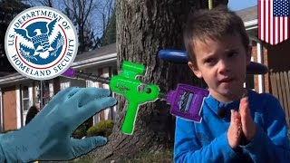 TSA fail: Agents toss 5-year old