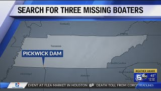 Boat of 3 missing Tennessee fishermen found below Pickwick Dam