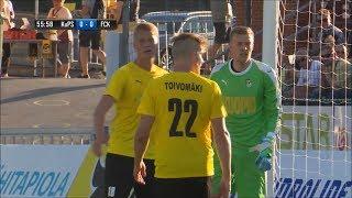 Ottelukooste: KuPS - FC Kööpenhamina 0-1