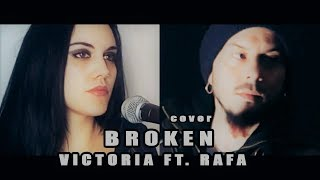 Скачать Seether Feat Amy Lee Broken Cover By Victoria Feat Rafa