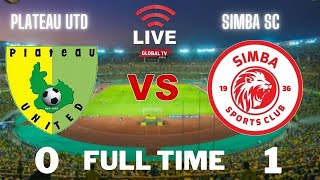 🔴#LIVE: PLATEAU UTD vs SIMBA SC (0 - 1) - LIGI KLABU BINGWA AFRIKA - NIGERIA